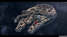 The Millennium Falcon Minecraft Map & Project