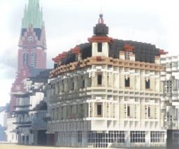 Apotheke in der Bahnhofstraße, Herne, Germany Minecraft Map & Project