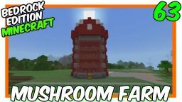 """New Style Auto Mushroom Farm"" Minecraft Map & Project"