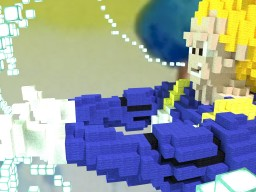 Vegeta SSJ3 Minecraft Map & Project