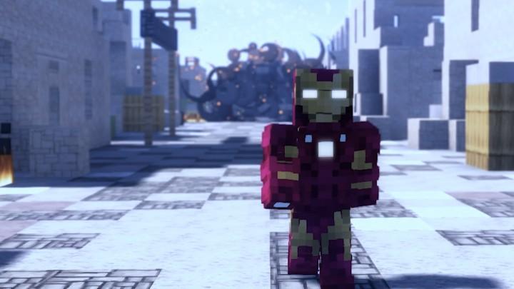 The Invincible Iron Man!