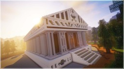 ⚡HUGE GREEK TEMPLE | Minecraft Timelapse (WORLD DOWNLOAD) Minecraft