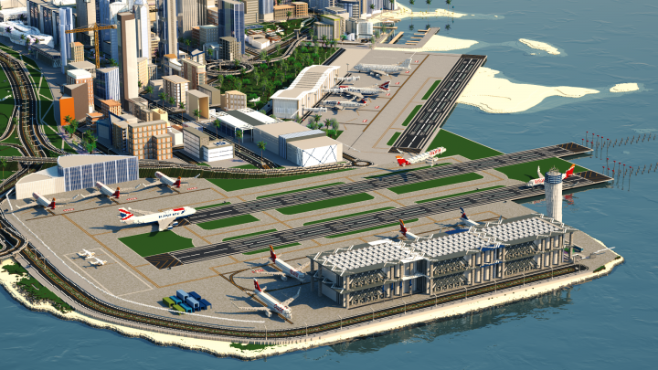 N int Airport WIP - Render By Fixy