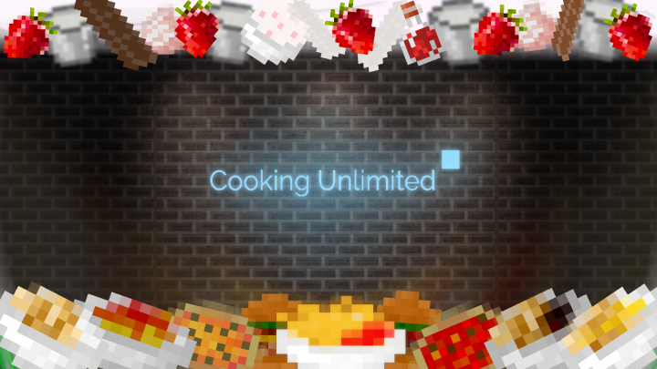 Popular Mod : Cooking Unlimited for 1.12.2 / 1.11.2 - Custom food mod