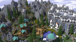 SwordVale | MASSIVE THEMED HUB Minecraft