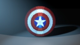 2 Gigantic Captain America shields Minecraft Map & Project
