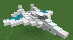 Fictional aircraft Minecraft Map & Project