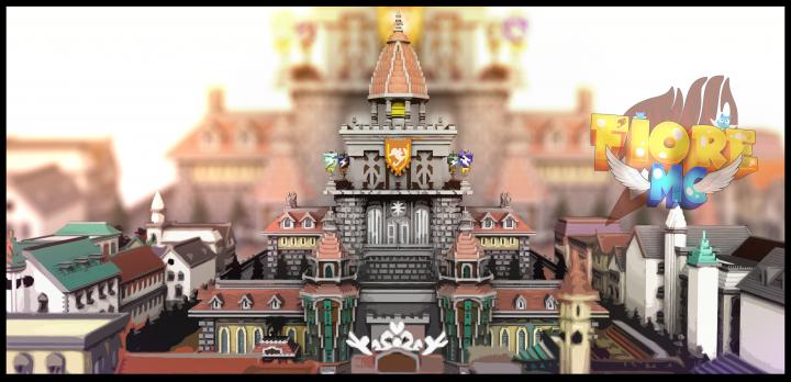 Fairytail Guild Hall - Render by Josh B