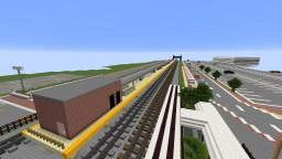 Beacon Train Station Minecraft