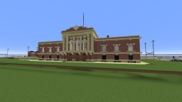 Amtrak Lancaster Train Station Minecraft Map & Project