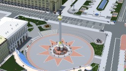 The Independence square of Kiev Minecraft Map & Project
