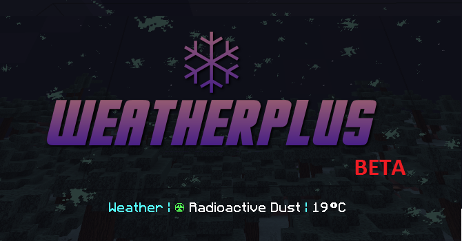 Title Screen - Radioactive Dust and 19C on actionbar.