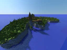 Pretty much an island.. Minecraft Map & Project