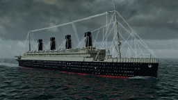 RMS Olympic 1914 Minecraft