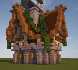 Medieval City House Minecraft Map & Project