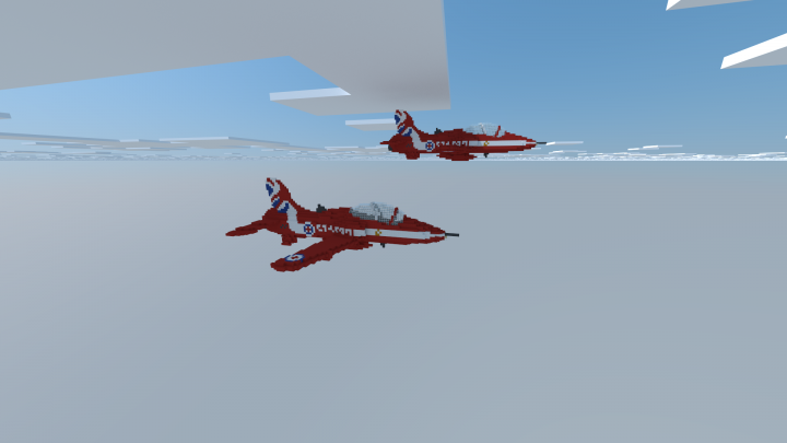 Popular Project : BAE Hawk | Red Arrows (ROL)