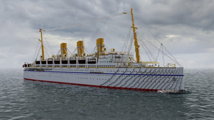 Popular Project : RMS Empress of Russia 1913 CPL