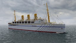 RMS Empress of Russia 1913 and Pre-War Version of 1914 (CPL) Minecraft