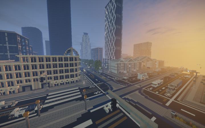 Downtown Near Spawn