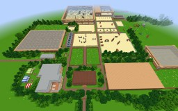 Giant Horse Barn Minecraft Map & Project