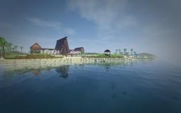 Beach Resort Minecraft Map & Project