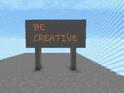 Be Creative! Minecraft Map & Project