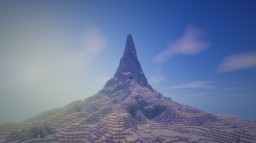 Desert Mountain Minecraft Map & Project