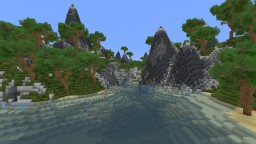 Jungle Terrain Minecraft Map & Project