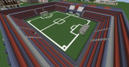 FOOTBALL STADIUM | CSKA Minecraft Map & Project