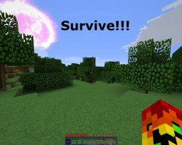 Survive the minecraft hardcore mode Minecraft Map & Project