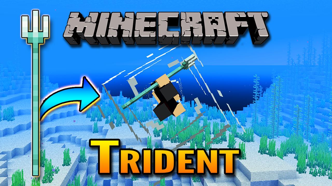 Mincraft 1.13 Aquatic Update   Trident Showcase Minecraft Blog