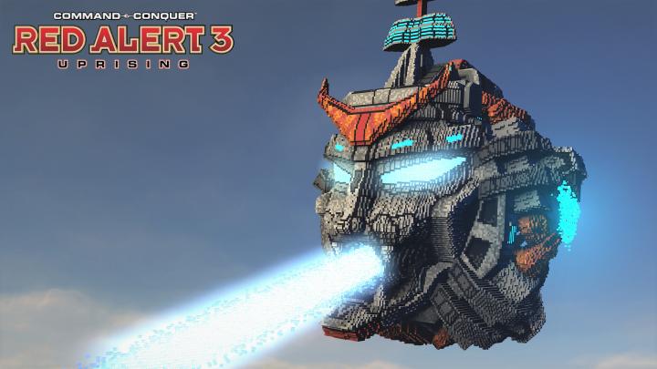 Popular Project : Sky Giga Fortress | C&C Red Alert 3 Uprising [⬇]