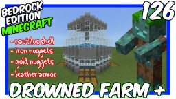 minecraft drowned farm