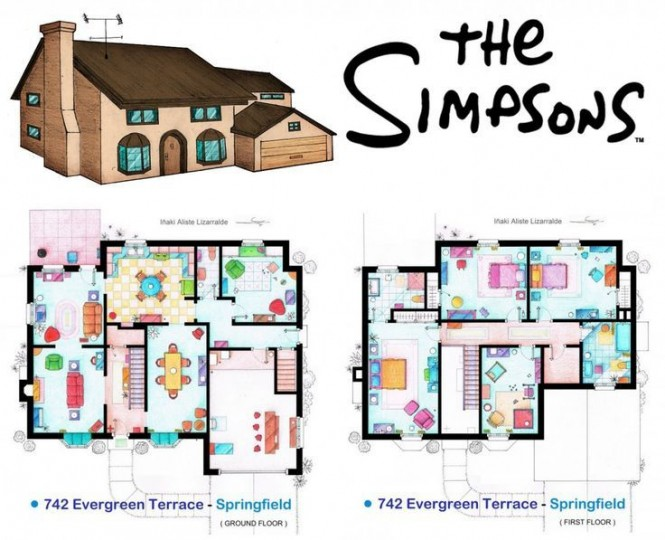 minecraft simpsons house map download