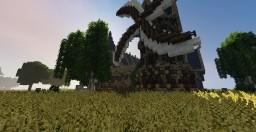 Medieval City under Castle [Progress: 55%] Minecraft Map & Project