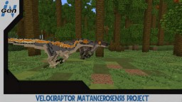 JURASSICRAFT - Velociraptor Matancerosensis skin Project Minecraft Map & Project