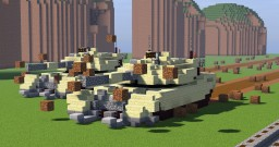 M1 Abrams - Anti Mine Tank Minecraft Map & Project