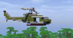 Bell UH-1 Helicopter Minecraft Map & Project