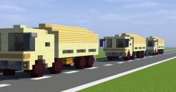 10to GL German Military Truck Minecraft Map & Project