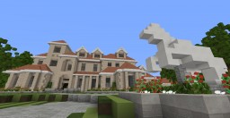 Oak Ridge - Mediterranean Style Mansion (With Interior) Minecraft Map & Project