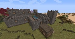 Free to use - Small Castle Minecraft Map & Project