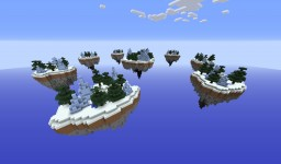 FrostLands - SkyWars Map ( 8 Small Islands + 1 Medium Central Island) Minecraft Map & Project