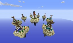 IndianTribes - SkyWars Map ( 8 Small Islands + 1 Medium Central Island) Minecraft Map & Project