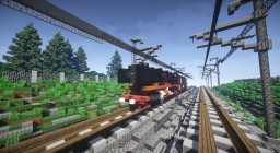 BR44 Steam Locomotive Minecraft Map & Project