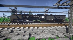 Union Pacific Challenger 844 Steam locomotive Minecraft Map & Project