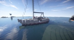 Jeanneau 42 Sailboat Minecraft Map & Project