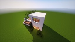 BOXY CLEAN Modern House 1.12 Minecraft Map & Project