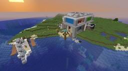 Aquatic Mansion Minecraft Map & Project