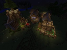 5x5 Chunks Houses Minecraft Map & Project
