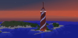 Lighthouse Build Minecraft Map & Project